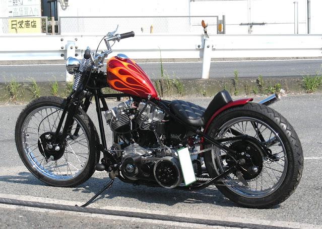 Harley Davidson Shovelhead 1976 By Shix Motorcycles Hell Kustom