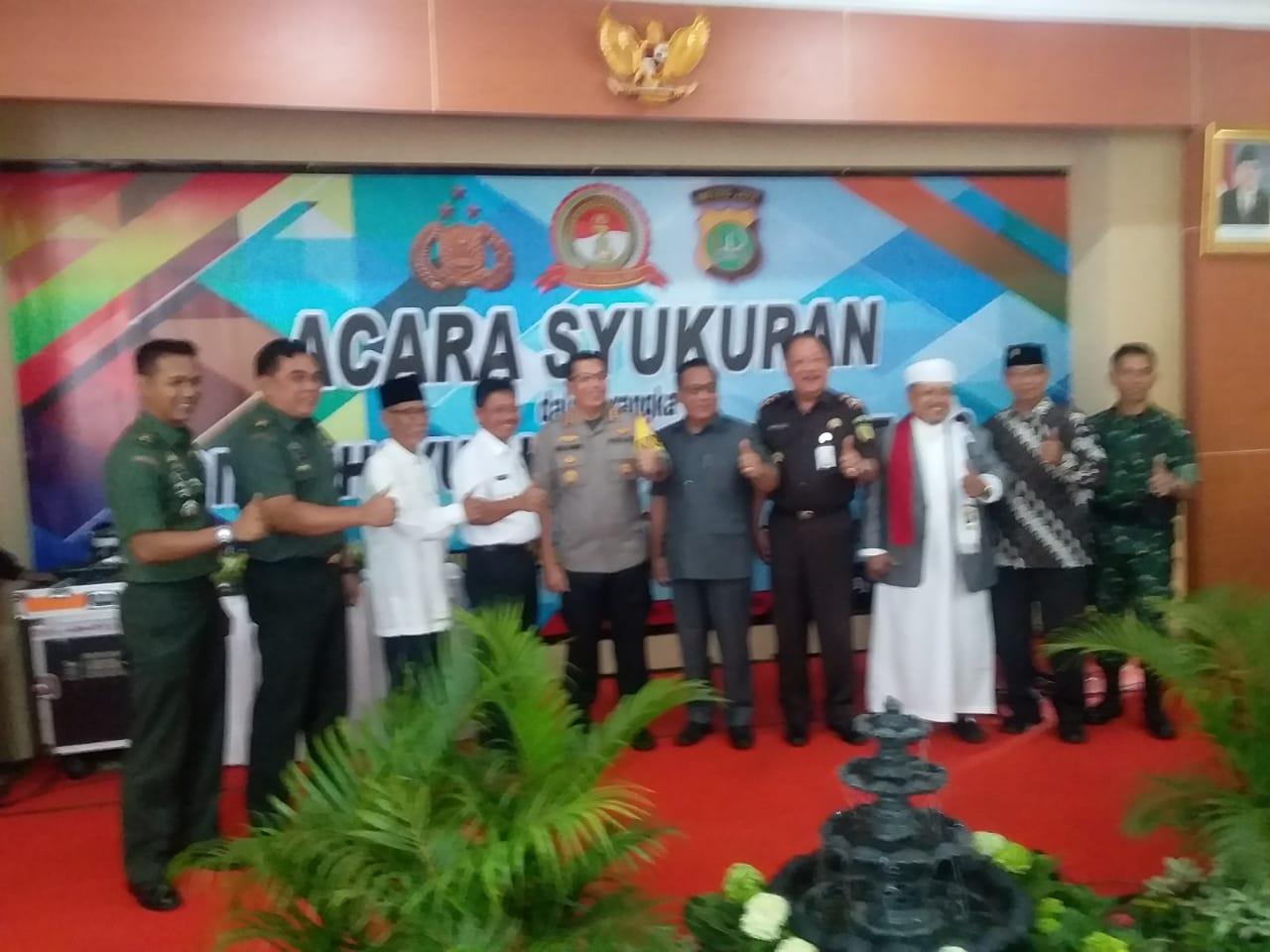 Peringati Dirgahayu Bhayangkara Ke 73, Polres Metro Tangerang Gelar Syukuran