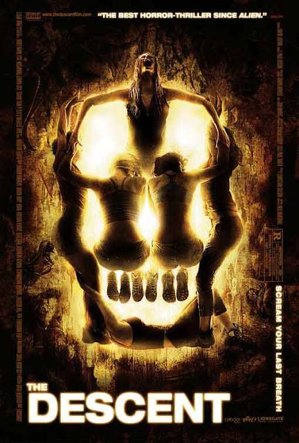 أقوى 10 أفلام رعب لن تستطيع إنهاءها.. أفضل أفلام الرعب المخيفة على الإطلاق فيلم الرعب The Descent 2005