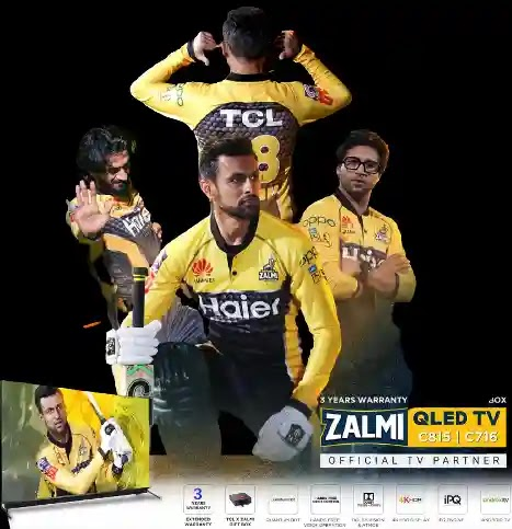 QLED C815 and C716 are introduced by TCL as Zalmi TV ahead of HBL PSL 6