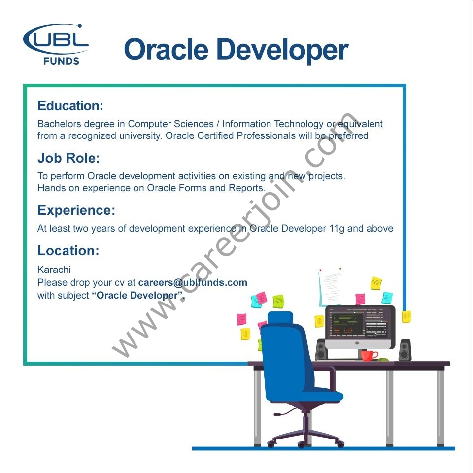 careers@ublfunds.com - UBL Fund Jobs 2021 in Pakistan