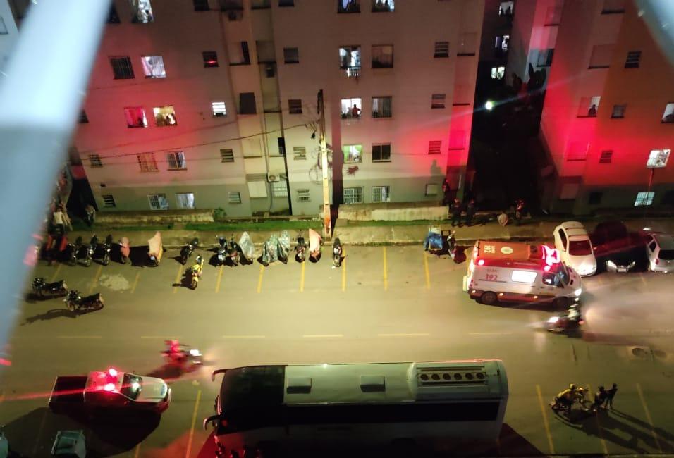 Jovem se joga do terceiro andar para não ser presa em Parauapebas
