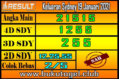 Keluaran Sydney 19 Januari 2021