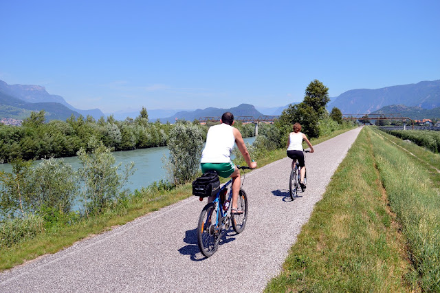 pista ciclabile dell'adige