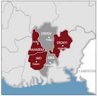 Nigeria southeast states