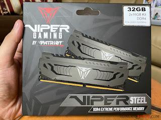 Patriot Viper Steel 32GB 3200Mhz