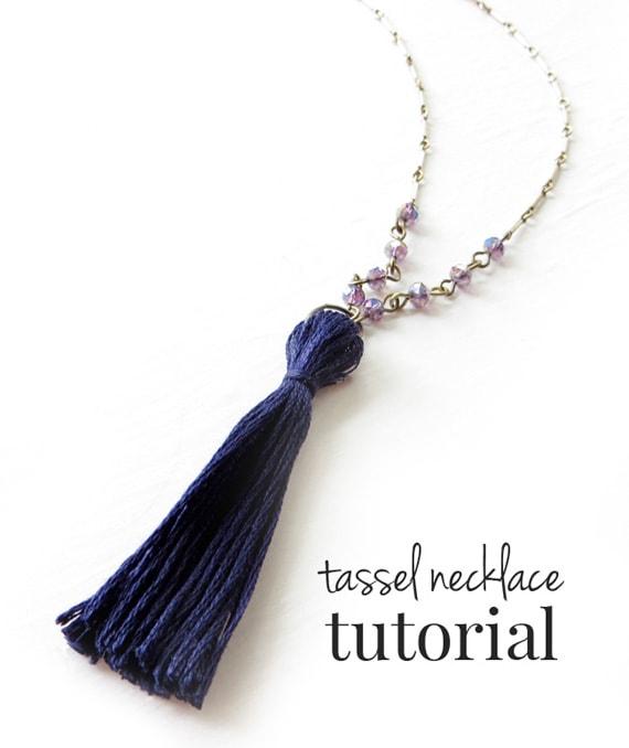 DIY Tassel Necklace from Little Nostalgia