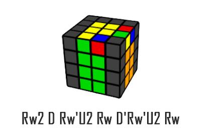 last 2 edges 4x4x4 cube - 5