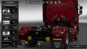 Mudflap Pack Scania V 1.3.2