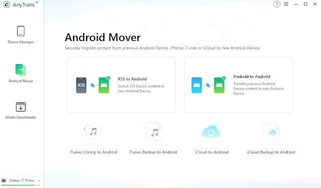 برنامج AnyTrans for Android 2020