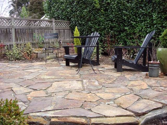 Flagstone Patio Photos Ideas