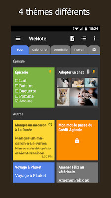Télécharger WeNote - Notes, Listes pro Apk