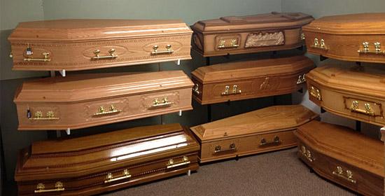 Enterrado vivo - Tipos de caixão