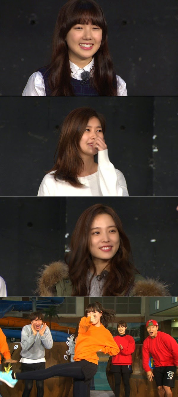 Actress Nam Ji Hyeon, Jeong So Min, Yoon So Hee,  and girl group G-Friend member Yerin from the top