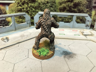 Chewbacca figure for Star Wars Legion
