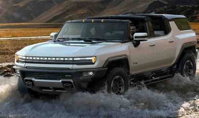 Hummer unveils the new electric SUV