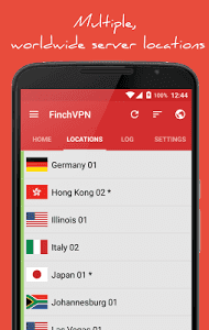 FinchVPN Premium Cracked APK Download For Android Full Mod