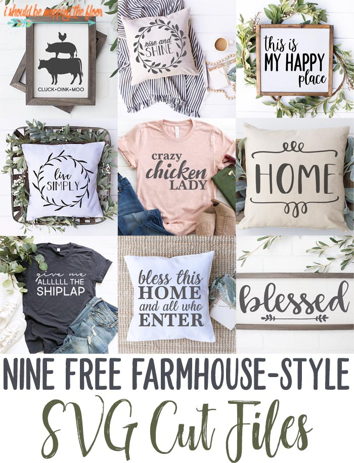 Farmhouse SVGs