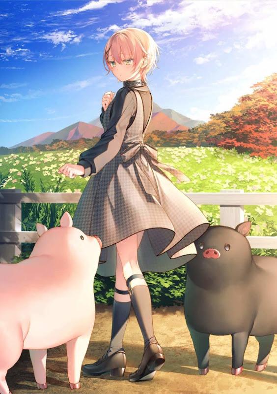 Portada del volumen 2 de Buta no Liver wa Kanetsushiro