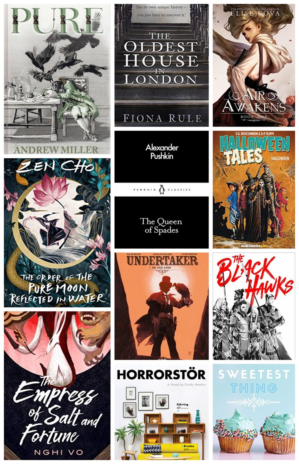 March Reading Wrap-Up 2020