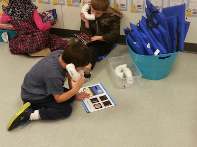 Language and Reading Skills Centers- working on literacy skills during extension time and reading blocks