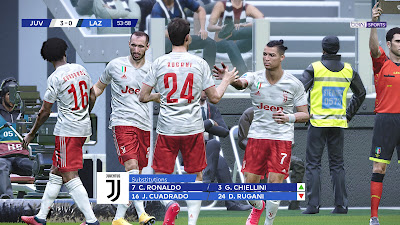 PES 2020 Scoreboard Supercoppa Italiana by SG