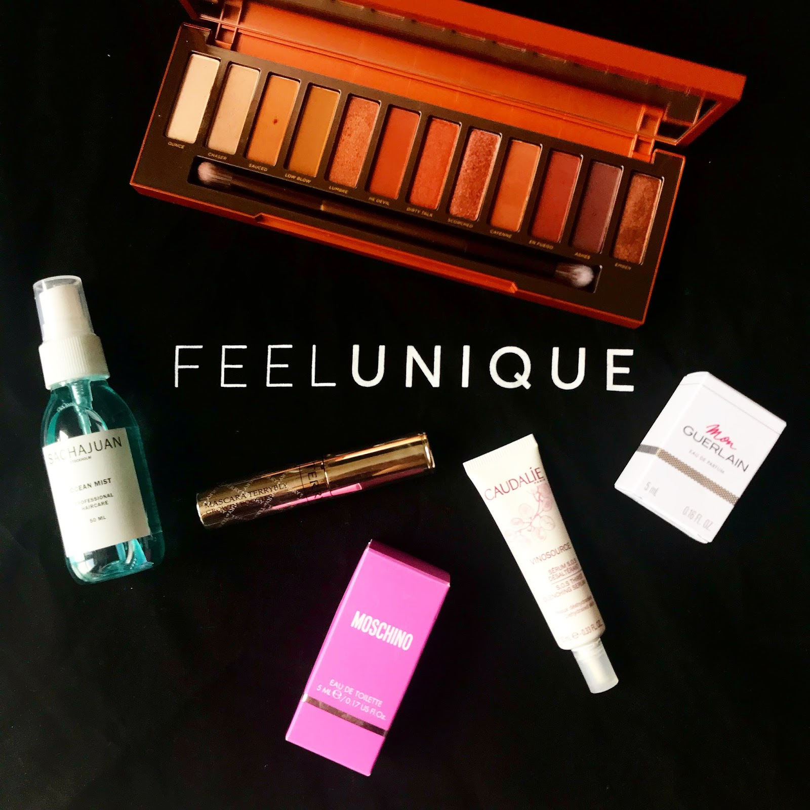 THE FEEL UNIQUE #SEASONTOSHINE POP UP | THE URBAN DECAY NAKED HEAT PALETTE