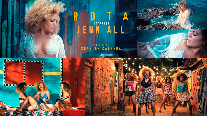 Jenn All - ¨ROTA¨ (Arréglate de qué) - Videoclip - Director: Charles Cabrera. Portal Del Vídeo Clip Cubano