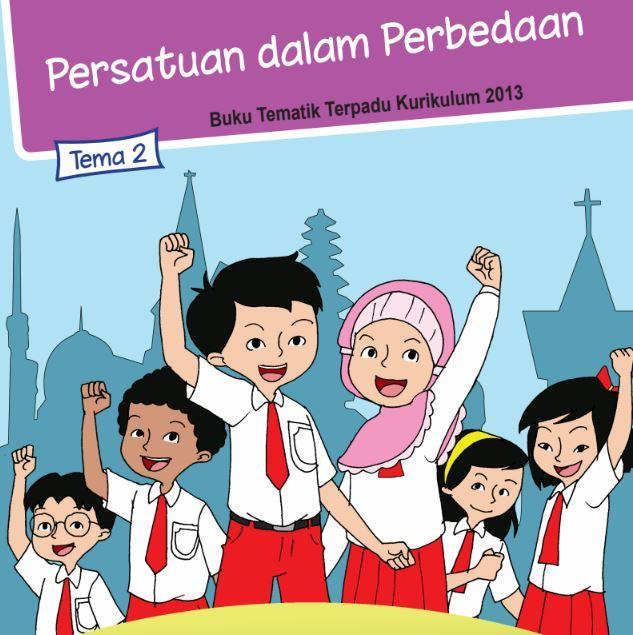 Buku Siswa Kelas 6 SD/MI Tema 2: Persatuan dalam perbedaan
