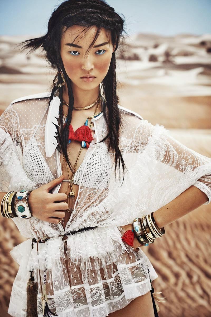 ASIAN MODELS BLOG: EDITORIAL: Tian Yi in Vogue China ...