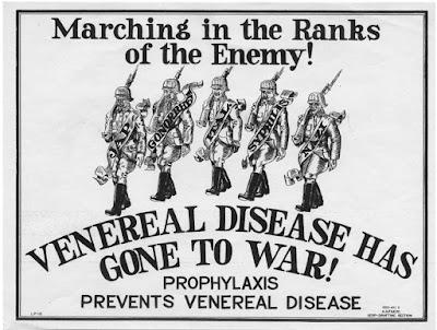 Venereal Disease Gone to War