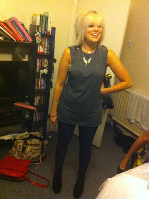 outfit posts studs platforms glamorous