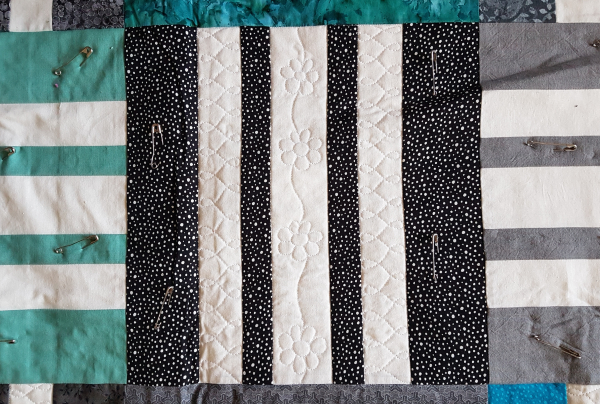 Indecisive quilt in progress | DevotedQuilter.com