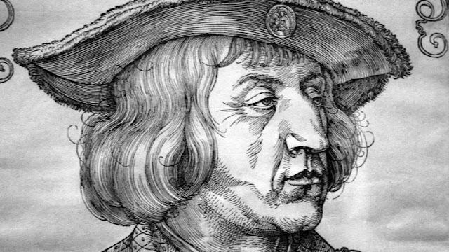 """""""سلام الأرض الأبدي"""" منذ 525 عامًا ..نهاية العصور الوسطى الخارجة على القانون ( عربي - Deutsch )"""