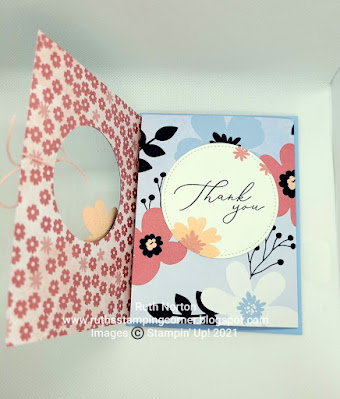 stampin' up, paper blooms, in bloom