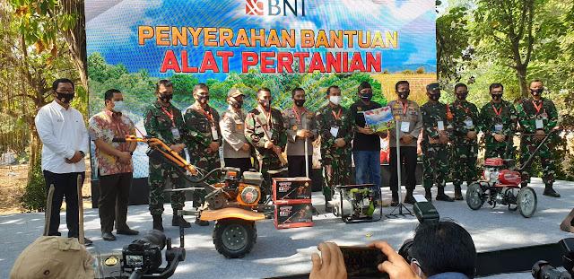 AKABRI 89 Beri Dukungan Gerakan Ketahanan Pangan Di Cisadane Kota Tangerang