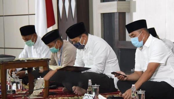 Walikota Kediri Ikuti Khotmil Quran Kubro Online Pemprov Jawa Timur