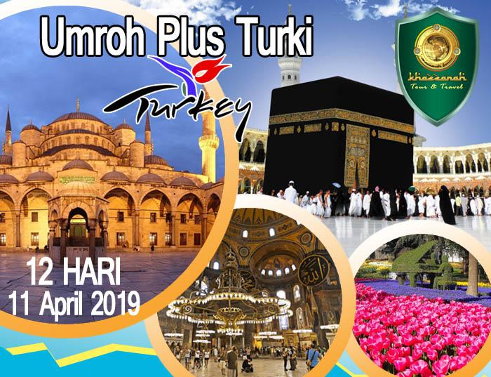 Paket Umroh Plus Turki 2019 Promo