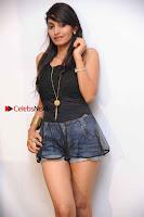 Kannada Actress Shama Taj in Denim Shorts at Engineers Movie Press Meet  0001.jpg
