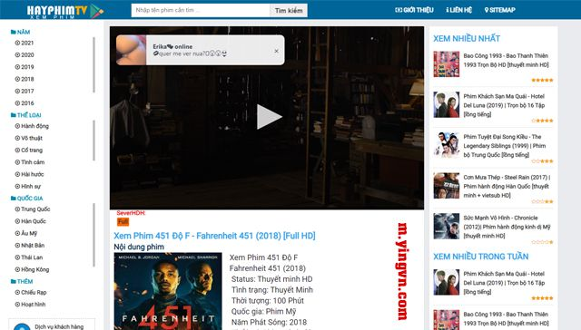 Template phim HAYPHIM.TV blogger đẹp - 2