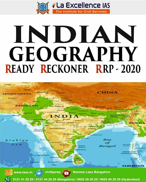 Indian Geography (2020) : for all Competitive Exams