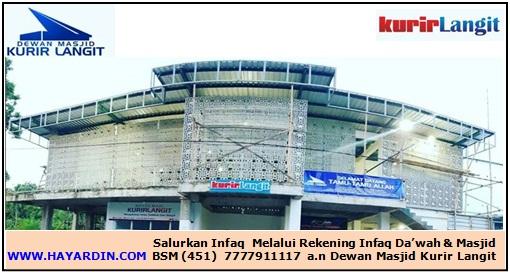 Lembaga Dewan Masjid Kurir Langit