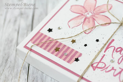 Tassenkuchenbox; Stampin' Up Tassenkuchenverpackung; Geburtstagsüberraschung basteln; stampin' Up Blog