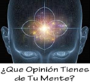 que opinion tienes de tu mente