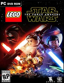 LEGO STAR WARS The Force Awakens ( 4 DVD )