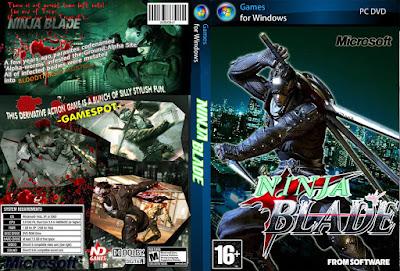 Jogo Ninja Blade PC DVD Capa