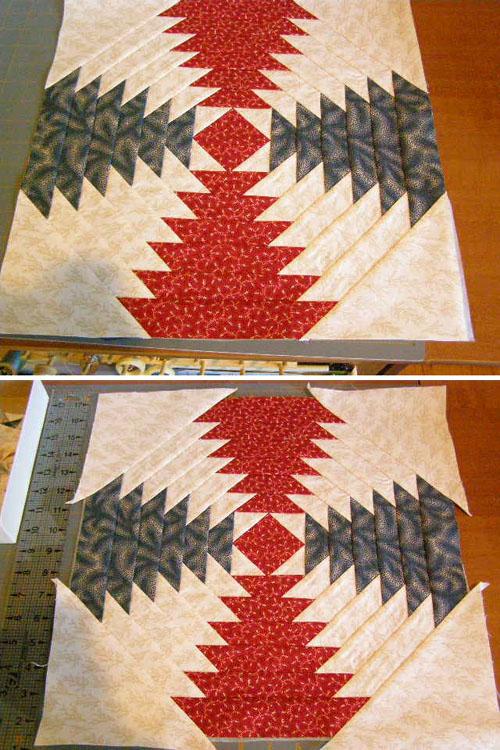 Pineapple Block - Quilt Tutorial