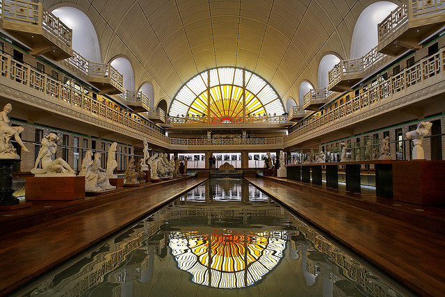 The swimming pool that turned into a museum kuriositas for Piscine a lille