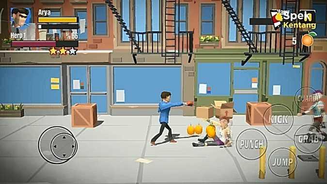 City Fighters vs Street Gang