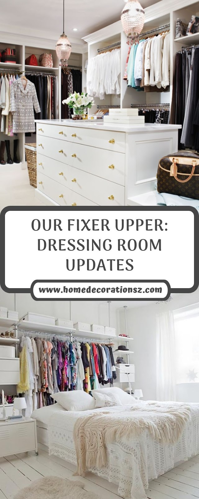 OUR FIXER UPPER: DRESSING ROOM UPDATES